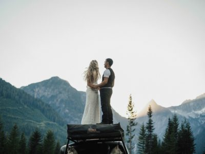 Mountain-top Anniversary Session