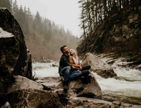 Othello Tunnels Chilliwack Engagement photos by Devin Moore